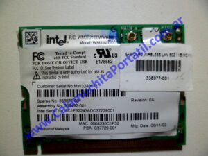 0002PWI Placa Wifi Compaq Presario X1000