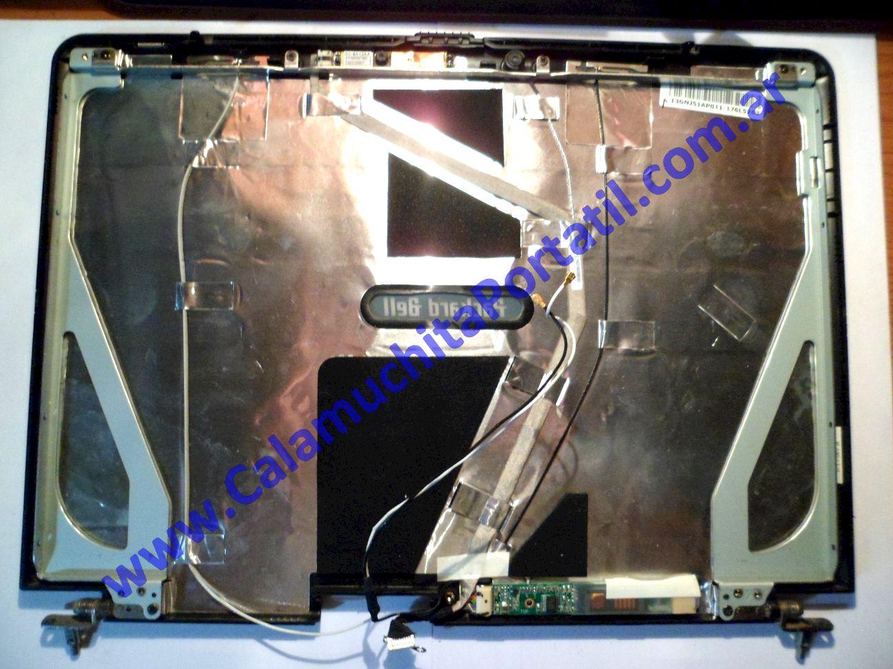 0010CAA Carcasa Tapa Packard Bell ALP-Ajax A