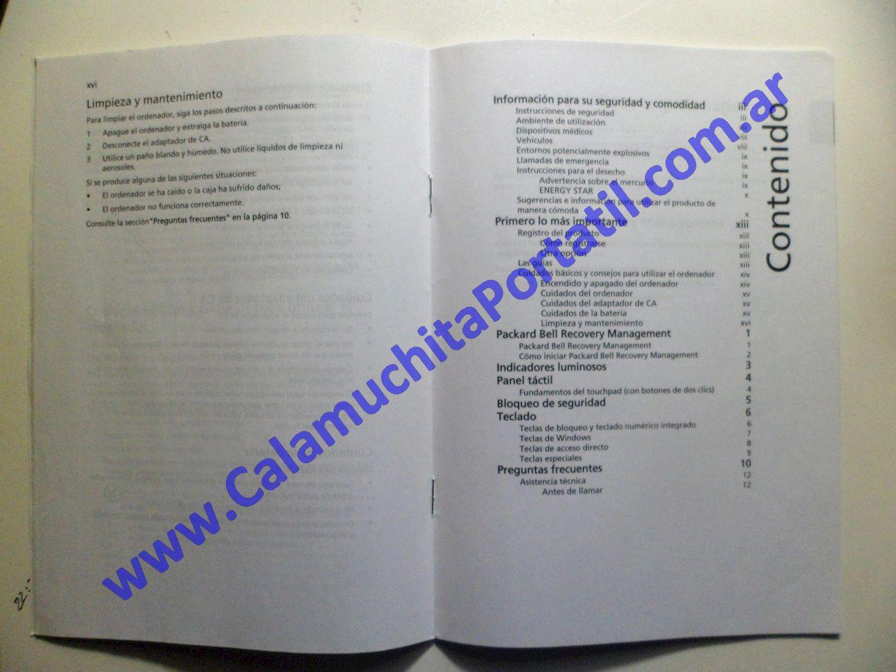 0011AMA Manual Packard Bell Dot-M-A / ZA8