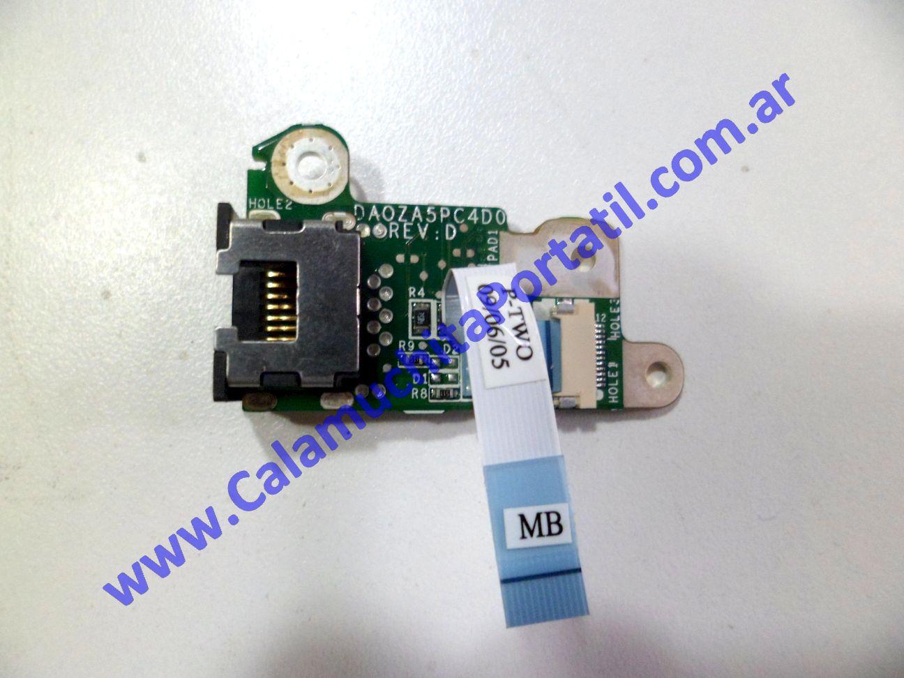 0011JLA Conector Lan Packard Bell Dot-M-A / ZA8