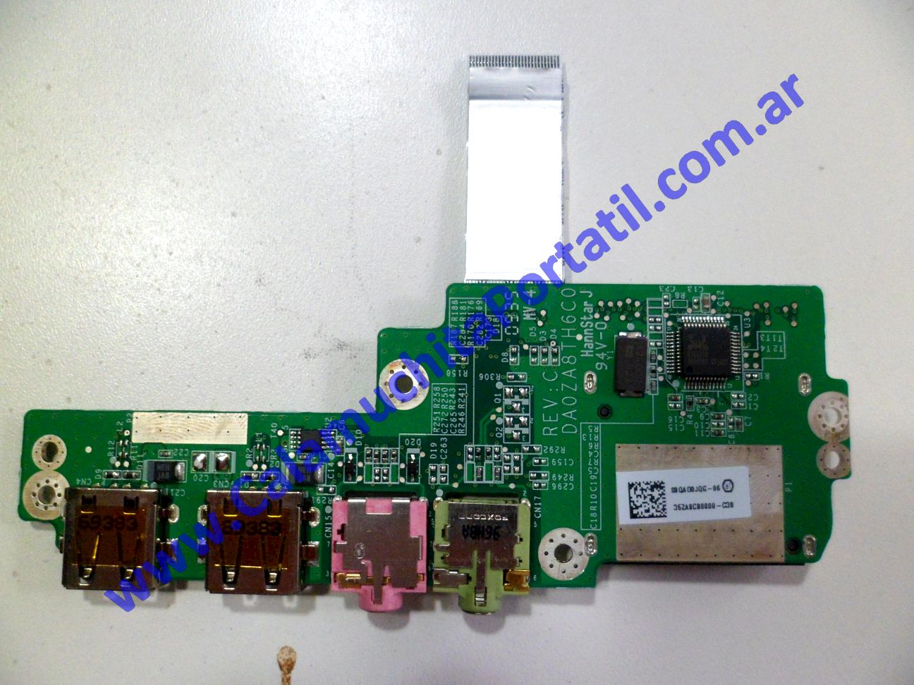 0011PUS Placa USB Packard Bell Dot-M-A / ZA8