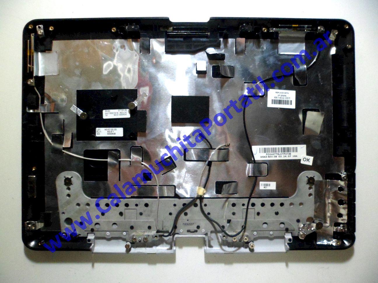 0014CAA Carcasa Tapa Hewlett Packard Pavilion TX1000 / TX1030la