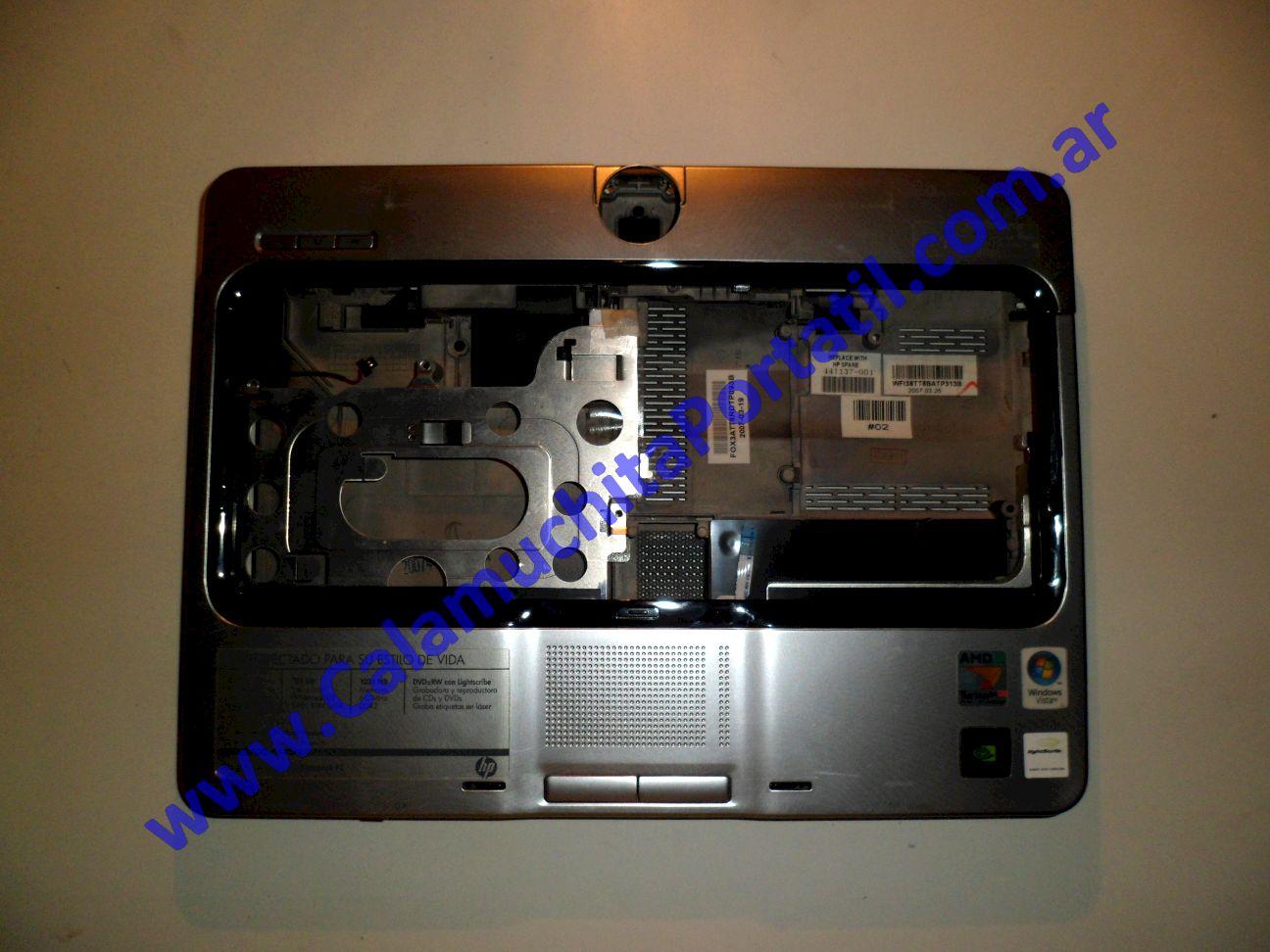 0014CAC Carcasa Teclado Hewlett Packard Pavilion TX1000 / TX1030la