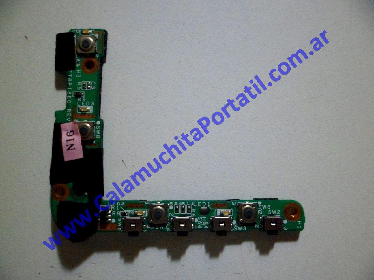 0014PAU Placa Auxiliar Hewlett Packard Pavilion TX1000 / TX1030la
