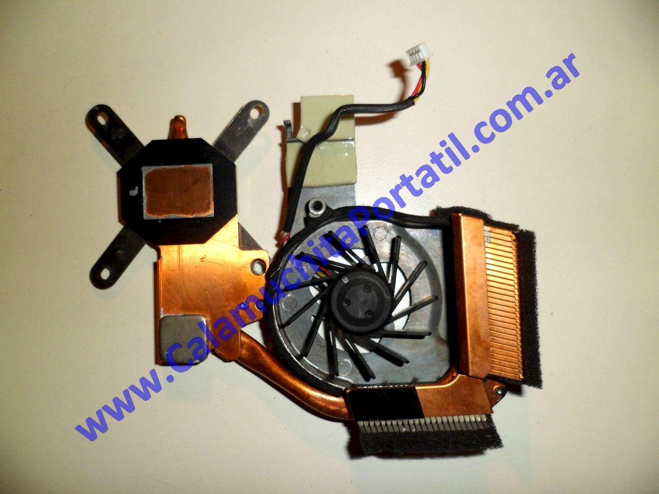 0014VDA Cooler C/Disipador Hewlett Packard Pavilion TX1000 / TX1030la