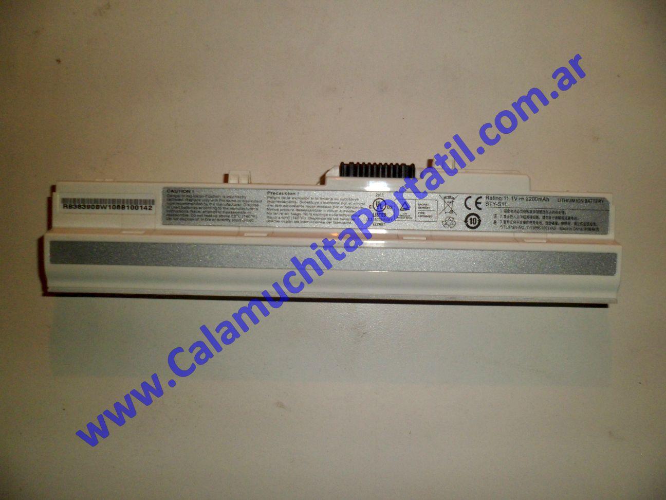 0018BAA Batería MSI Wind U100 / MS-N011