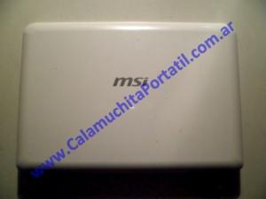 0018CAA Carcasa Tapa MSI Wind U100 / MS-N011