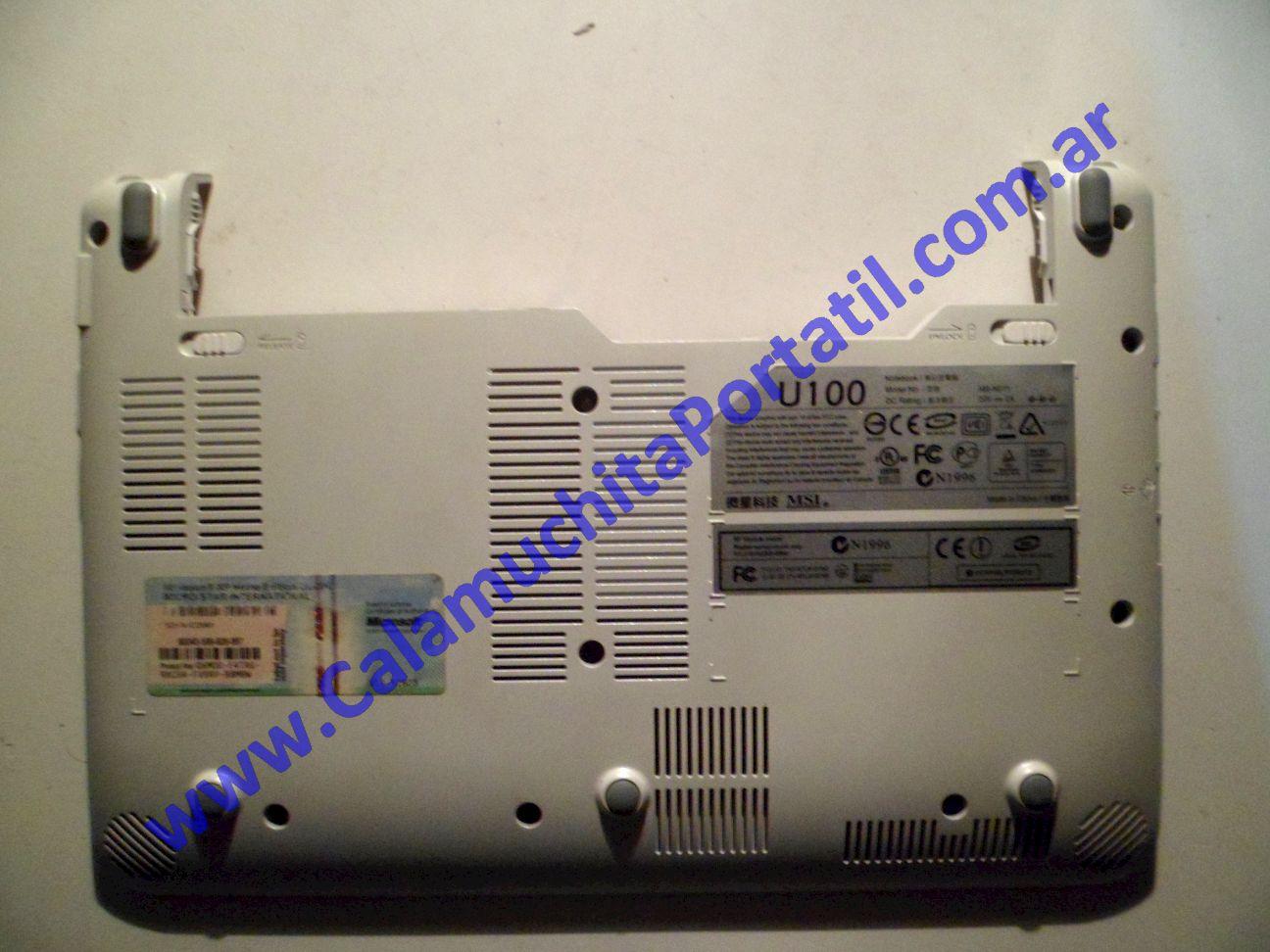 0018CAD Carcasa Base MSI Wind U100 / MS-N011