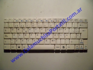 0018KBA Teclado MSI Wind U100 / MS-N011