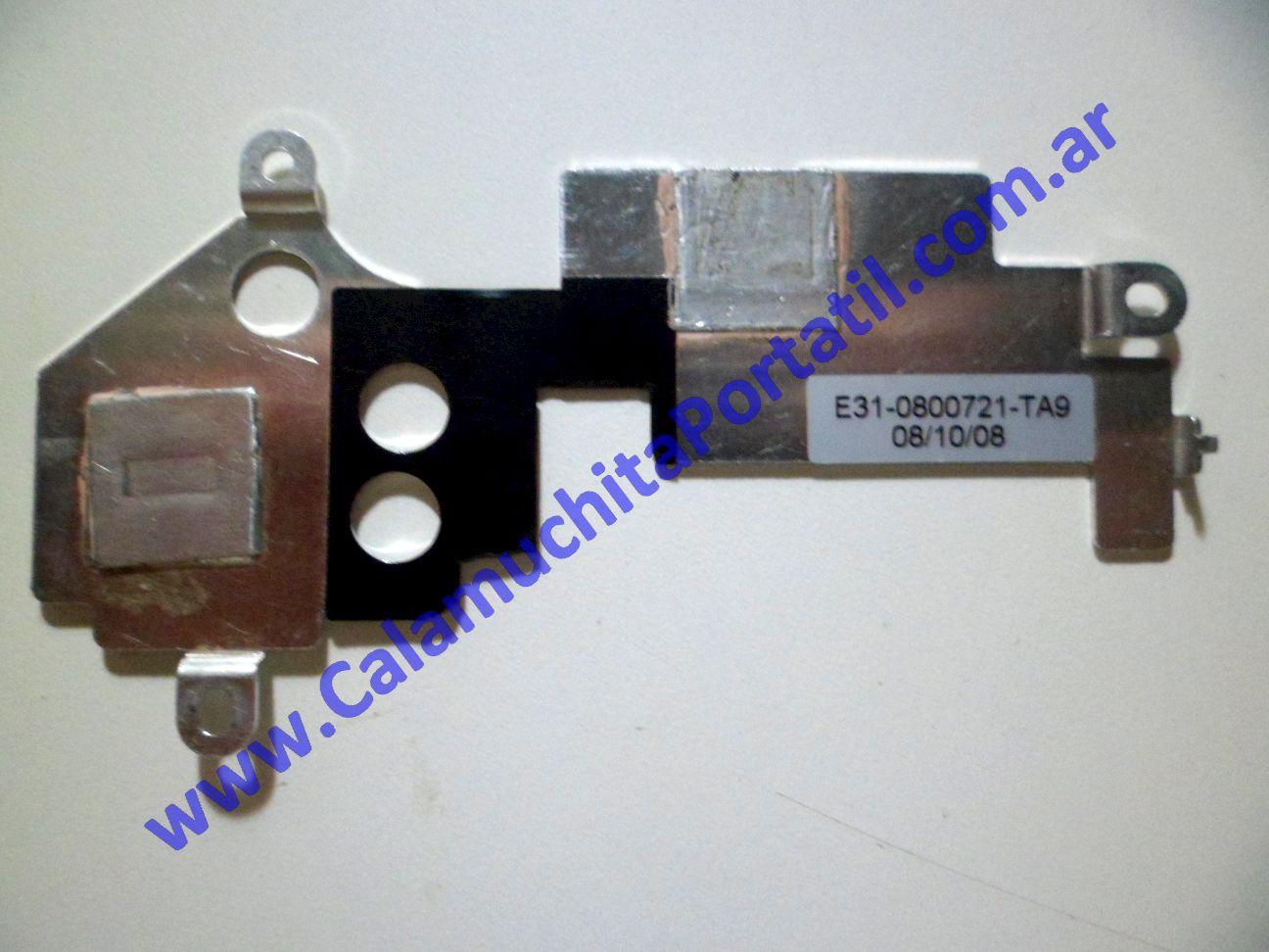 0018UDA Disipador MSI Wind U100 / MS-N011