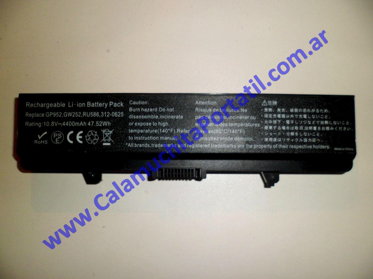 0019BAA Batería Dell Inspiron 1525
