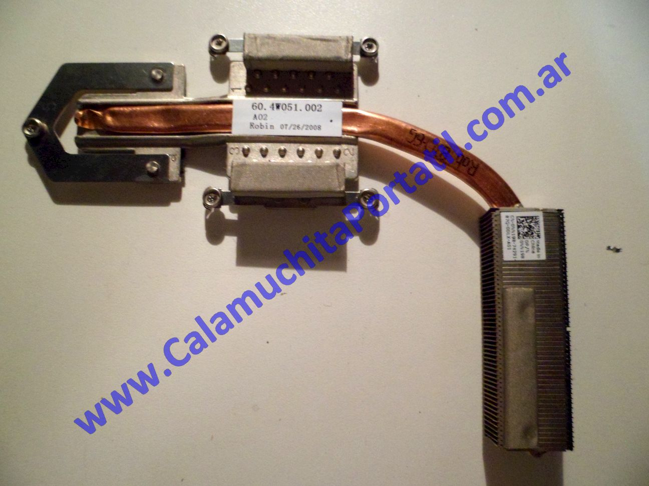 0019UDA Disipador Dell Inspiron 1525