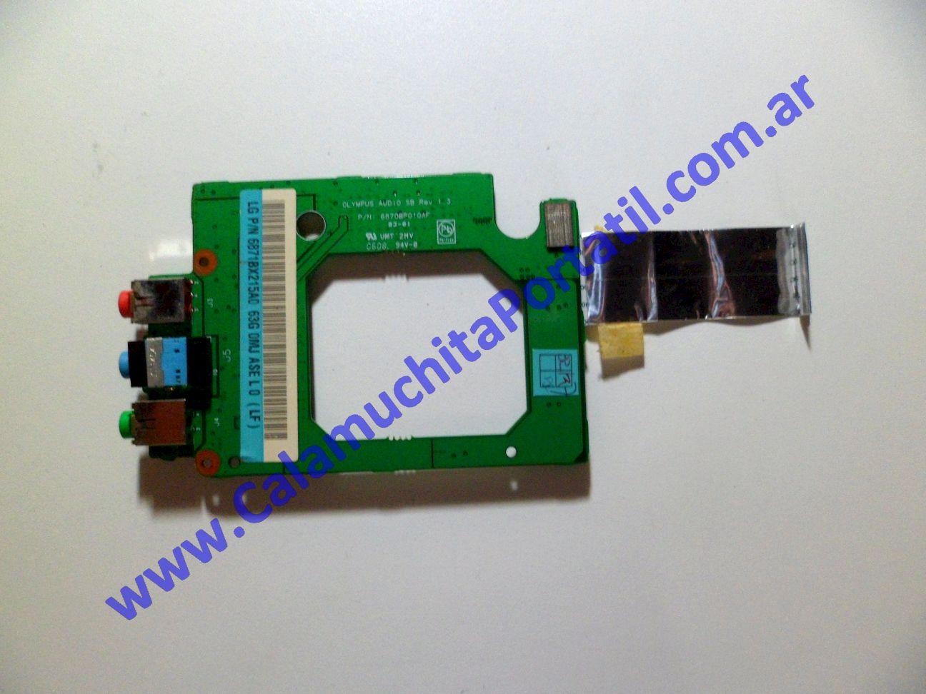0021PSO Placa Sonido LG LW40 / LGW4