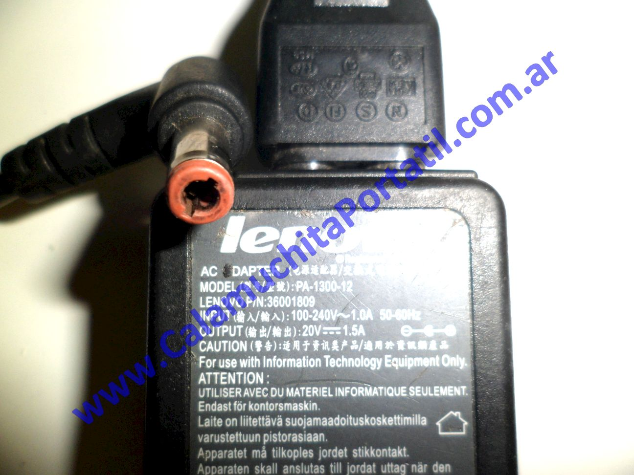 0022RCA Cargador Lenovo S10-3c