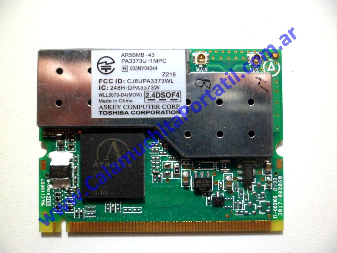 0023PWI Placa Wifi Toshiba Satellite A60-SP159