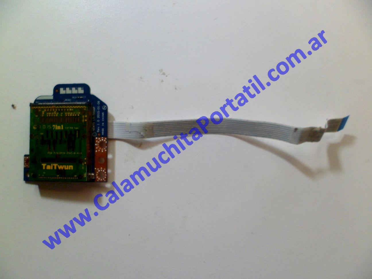 0024PCR Placa CardReader Acer Aspire 5251-1080 / NEW75