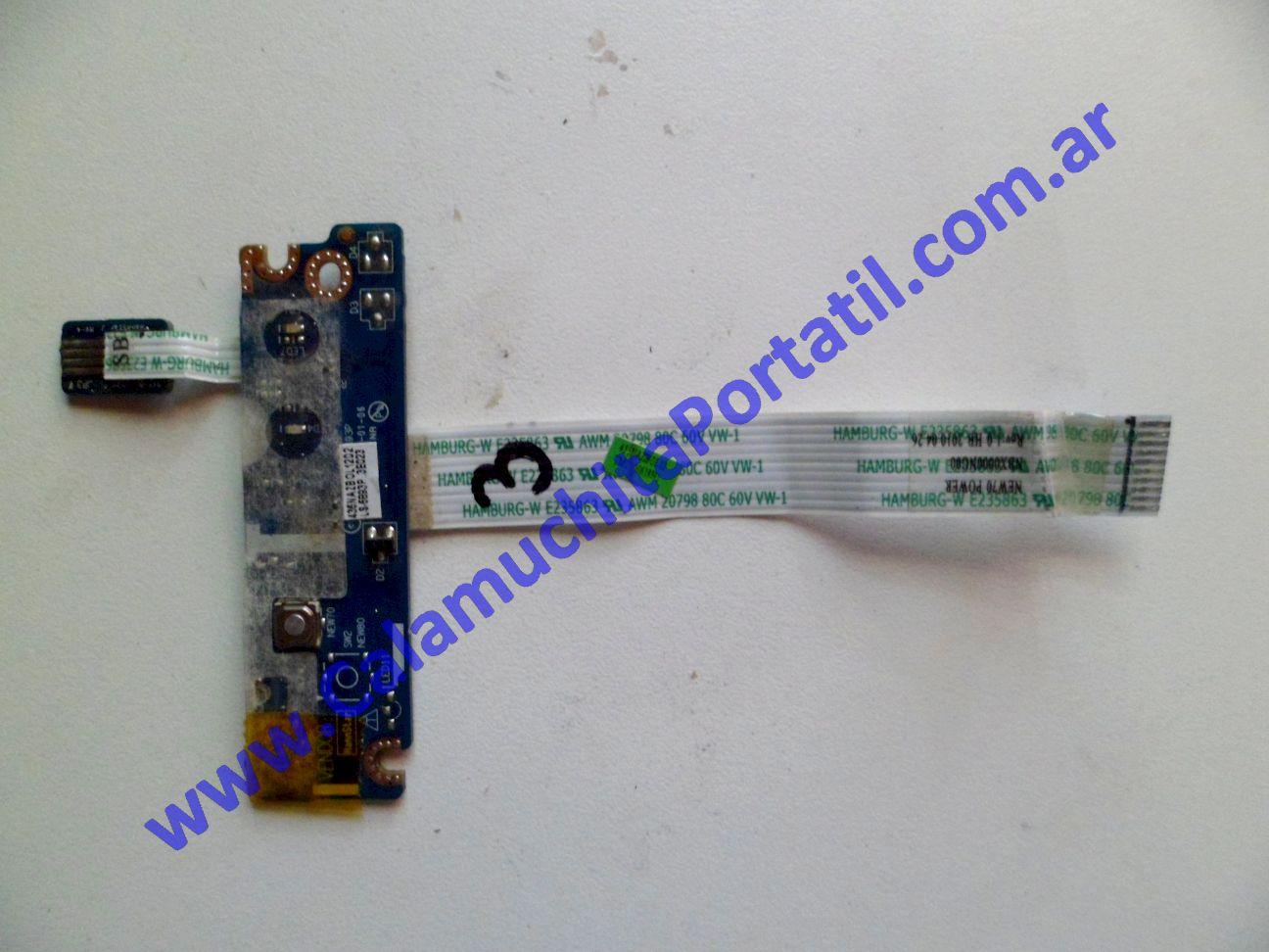0024PEN Placa Encendido Acer Aspire 5251-1080 / NEW75
