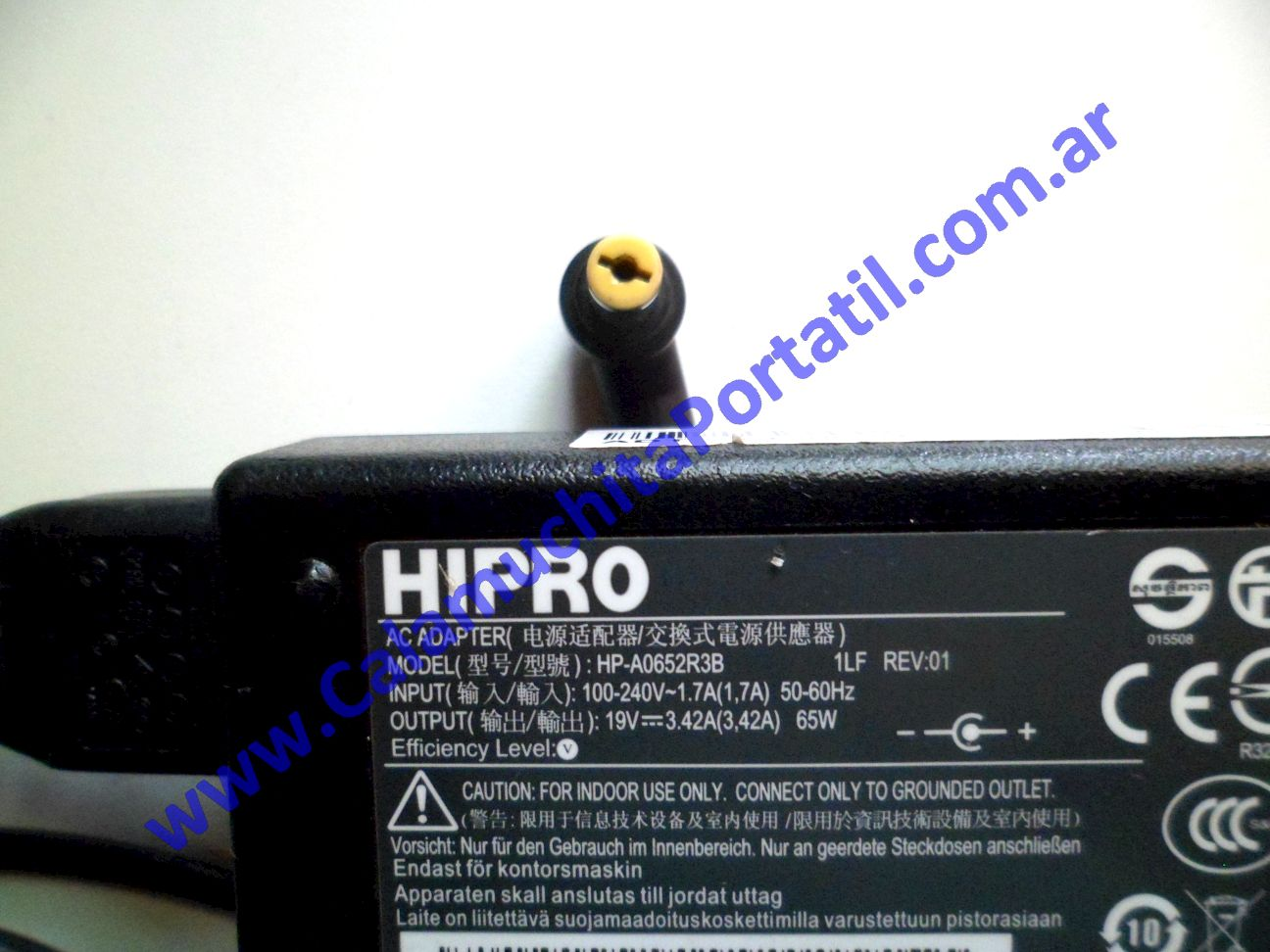 0024RCA Cargador Acer Aspire 5251-1080 / NEW75