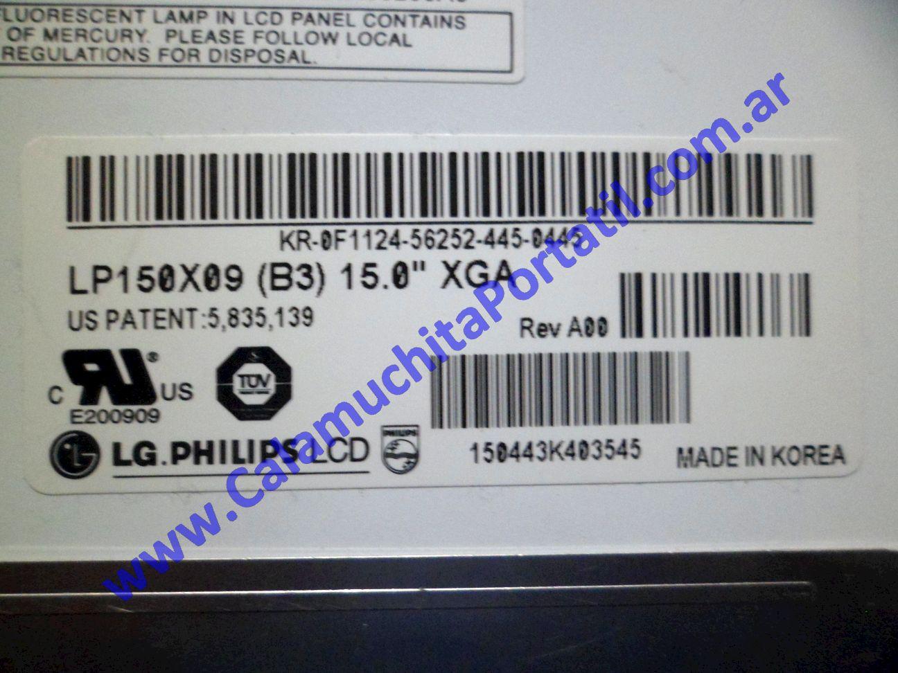0025DIA Display Dell Inspiron 5150