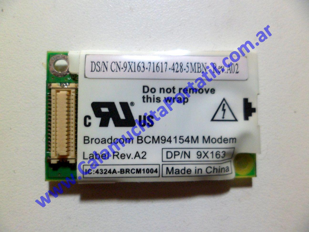 0025PMO Placa Módem Dell Inspiron 5150