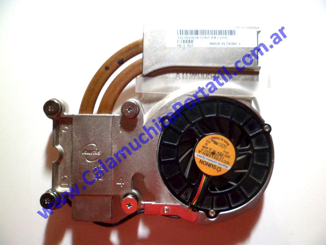 0025VDA Cooler C/Disipador Dell Inspiron 5150
