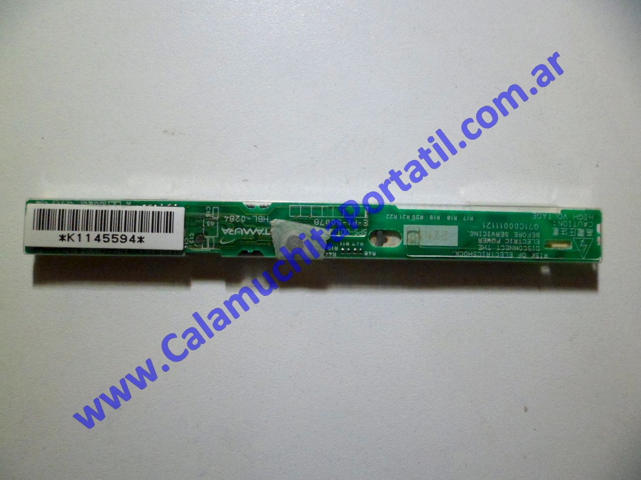 0026INV Inverter Toshiba Satellite Pro M15-S405