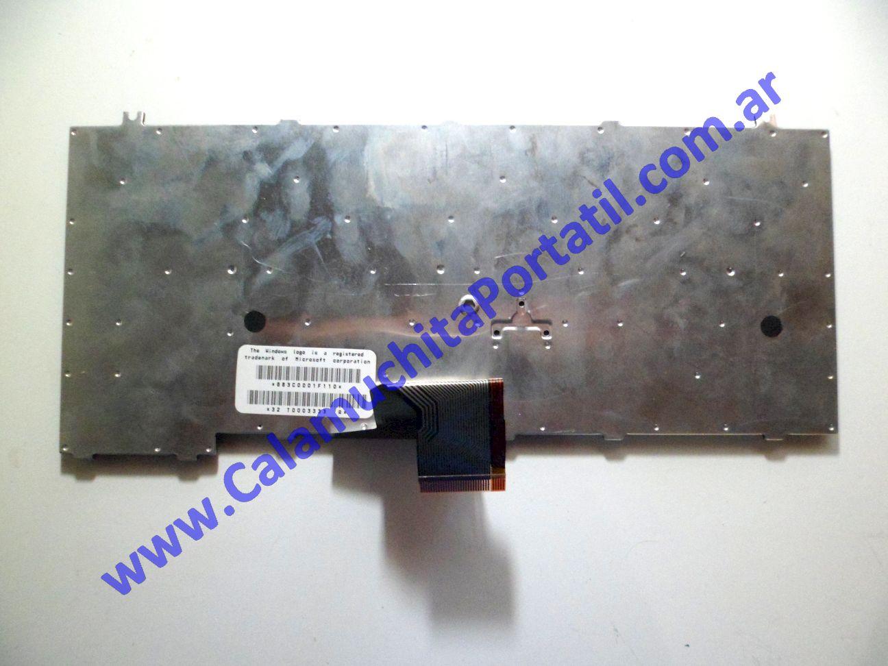 0026KBA Teclado Toshiba Satellite Pro M15-S405