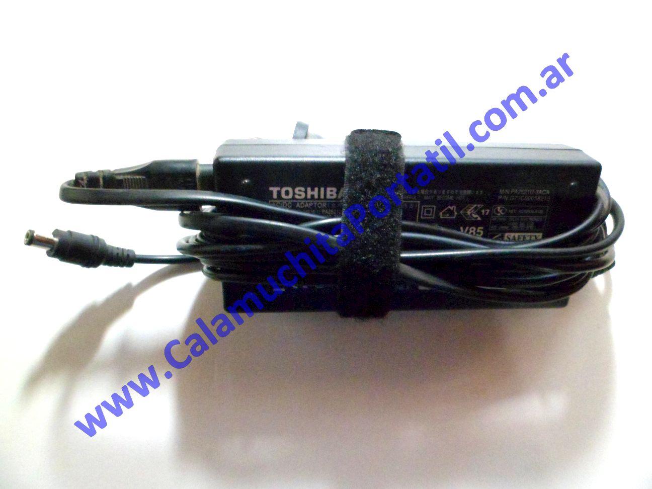 0026RCA Cargador Toshiba Satellite Pro M15-S405