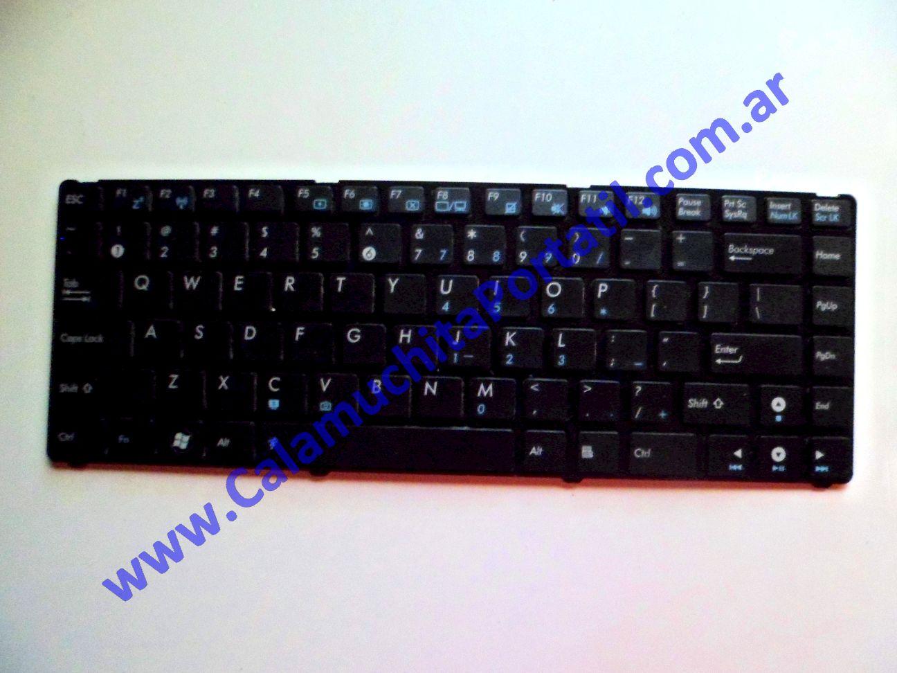 0027KBA Teclado Asus Eee PC 1201n