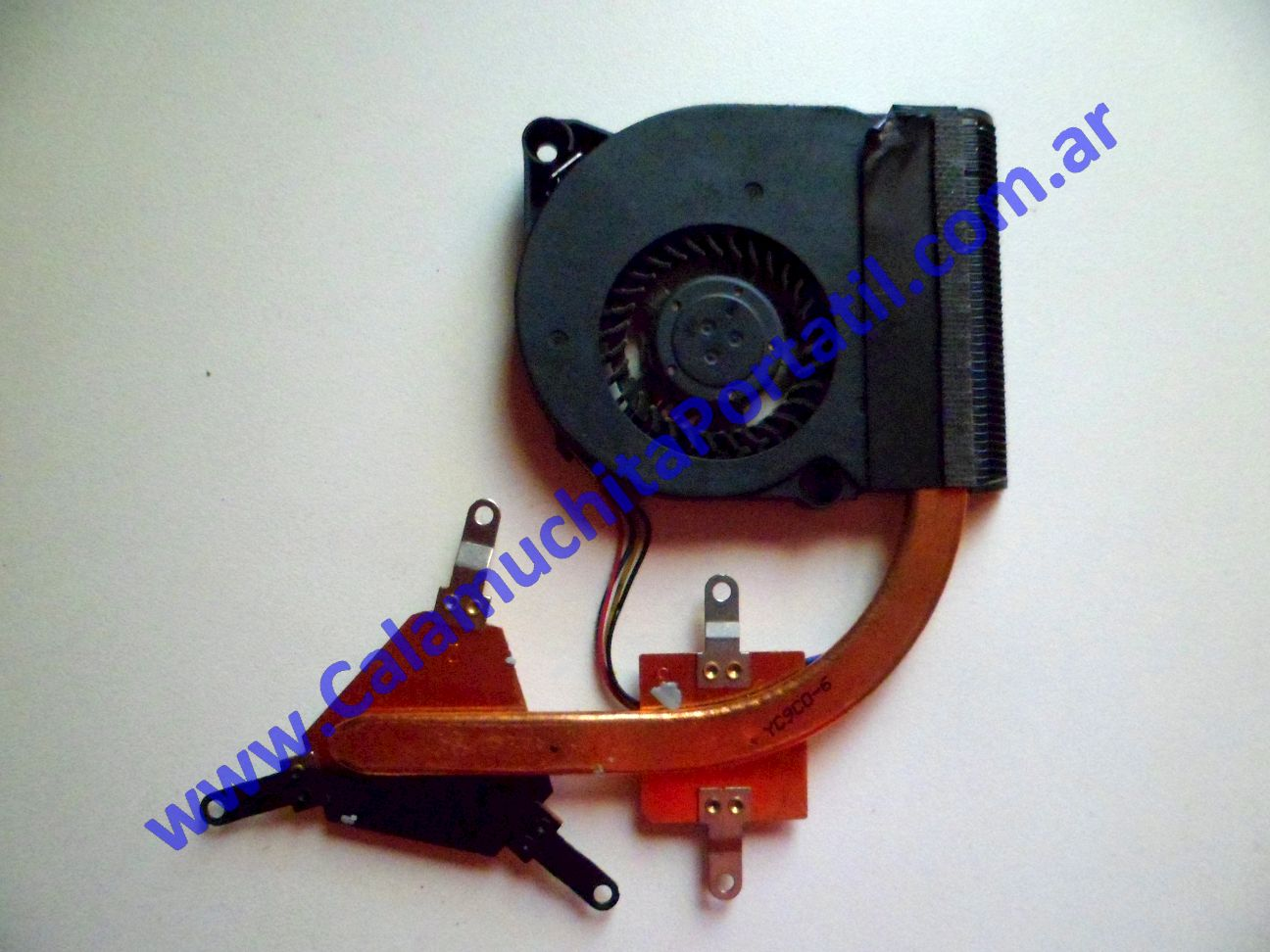 0027VDA Cooler C/Disipador Asus Eee PC 1201n