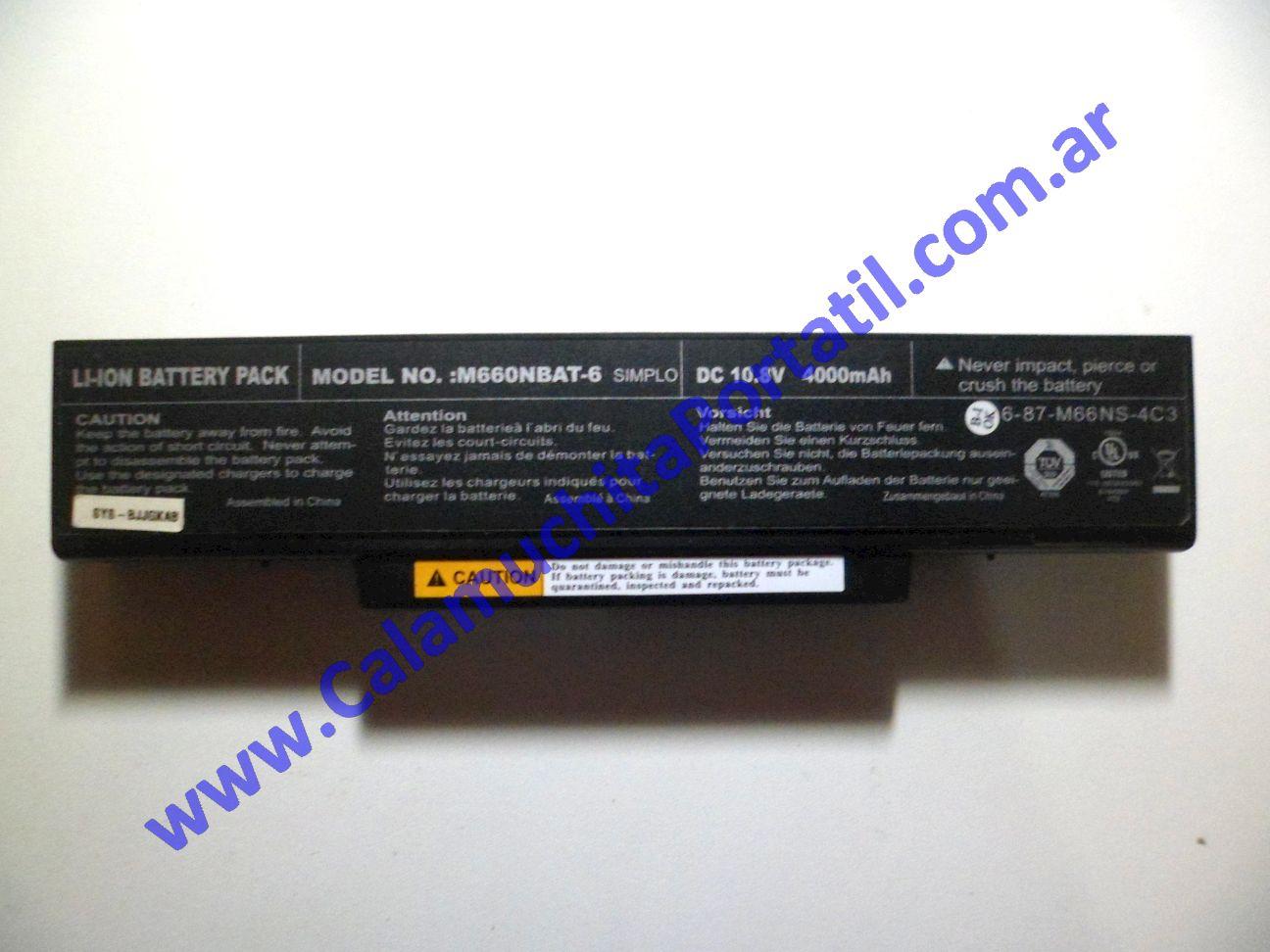 0030BAA Batería Banghó M66SRU