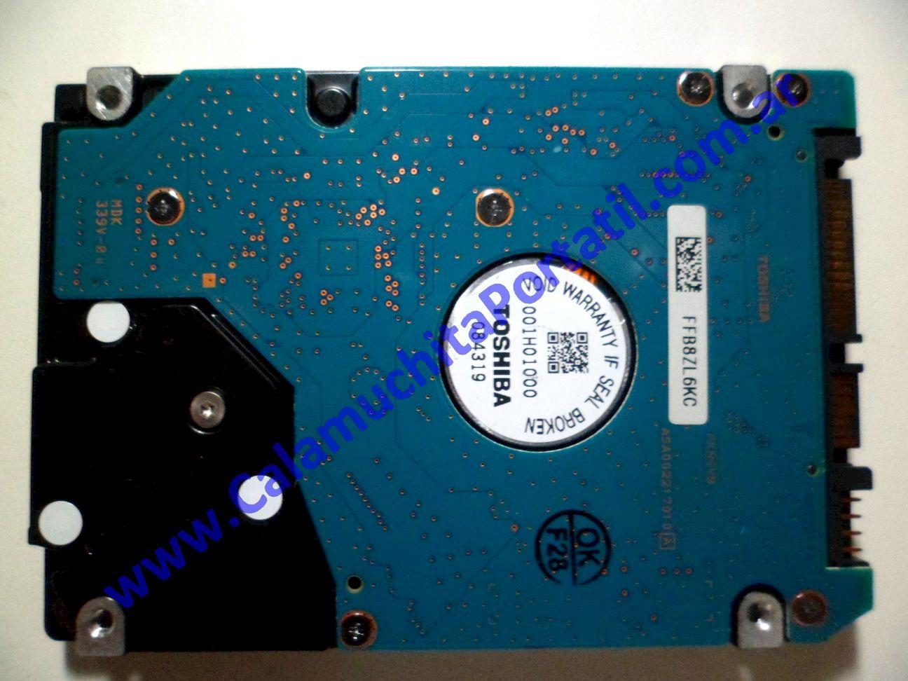 0031HDA Disco Rígido Toshiba MK1652GSX