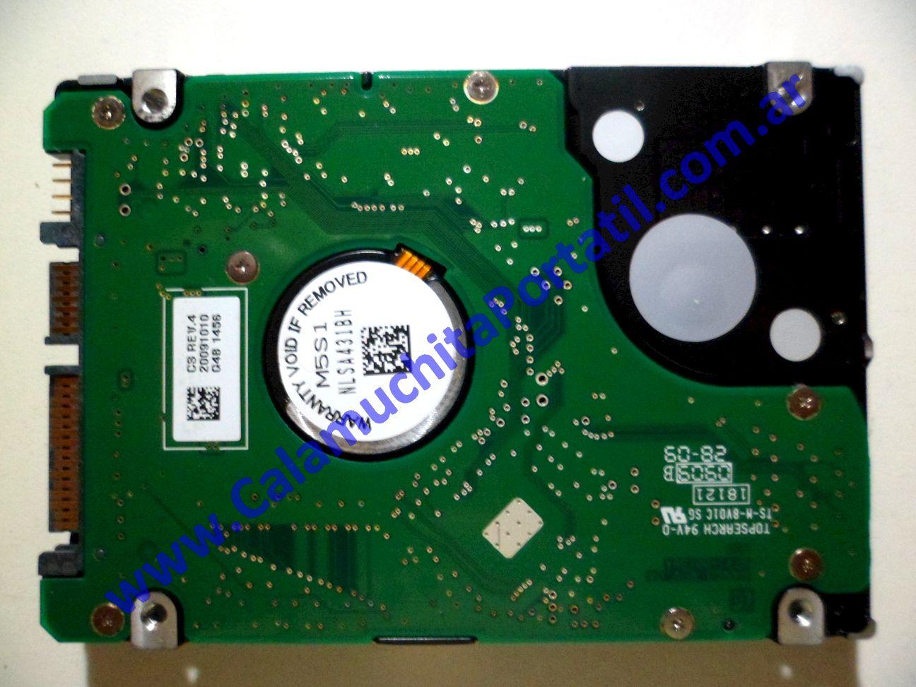 0033HDA Disco Rígido Samsung N130 / NP-N130