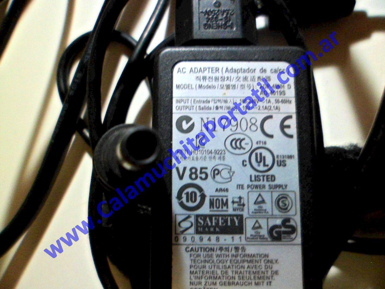 0033RCA Cargador Samsung N130 / NP-N130