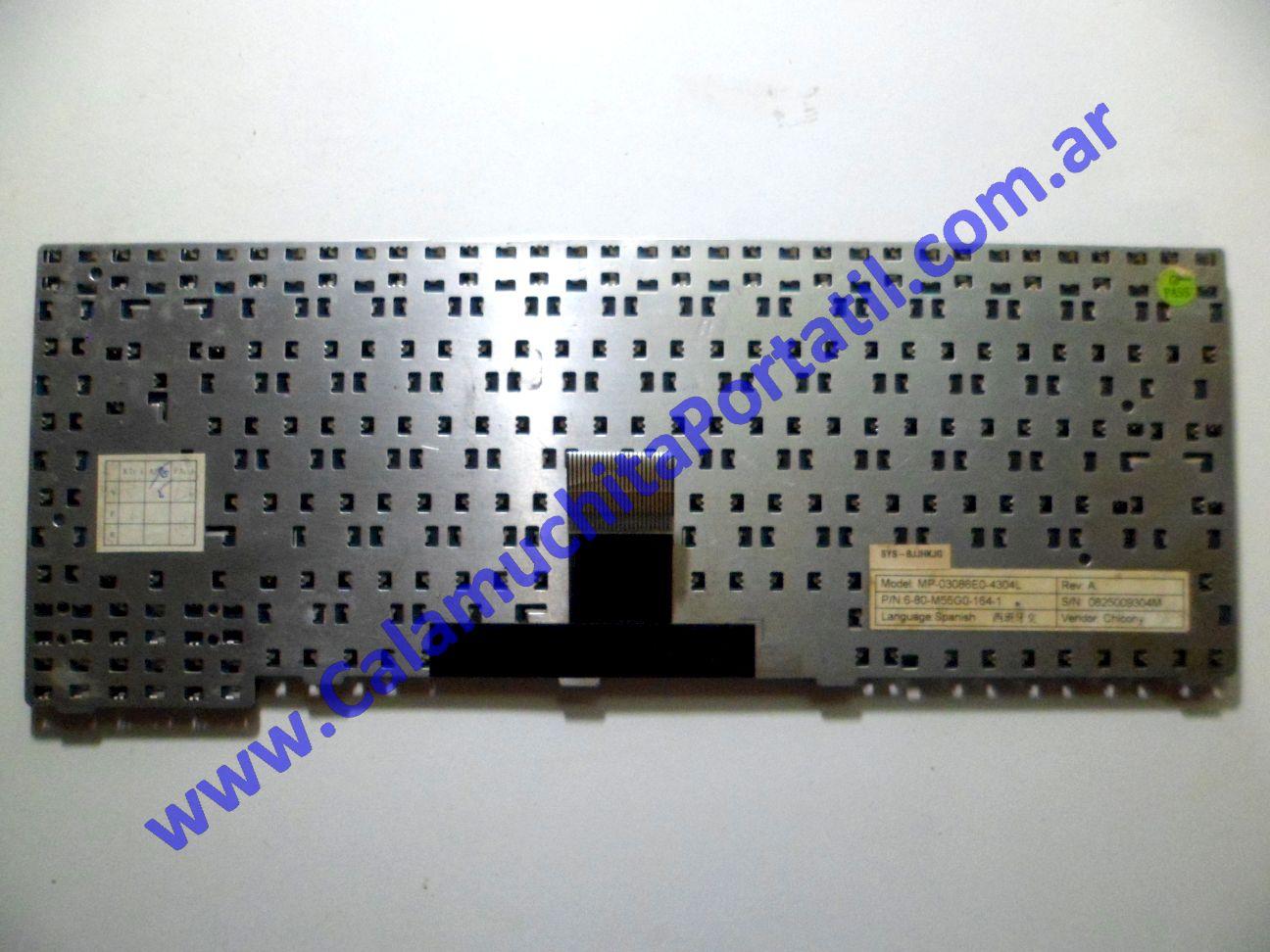 0034KBA Teclado Banghó M548SS
