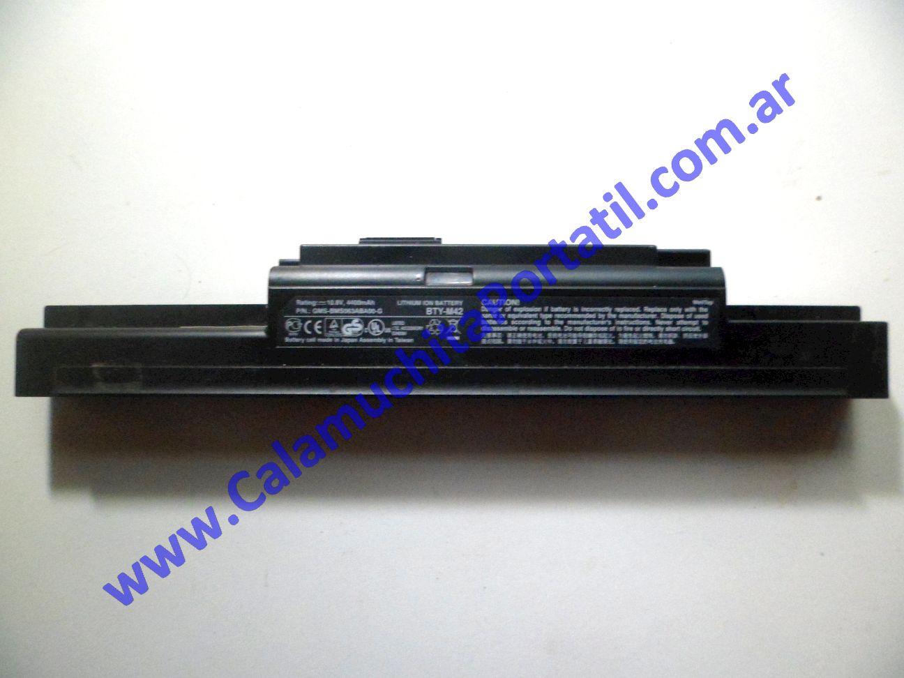 0037BAA Batería MSI VR330X / MS-1336