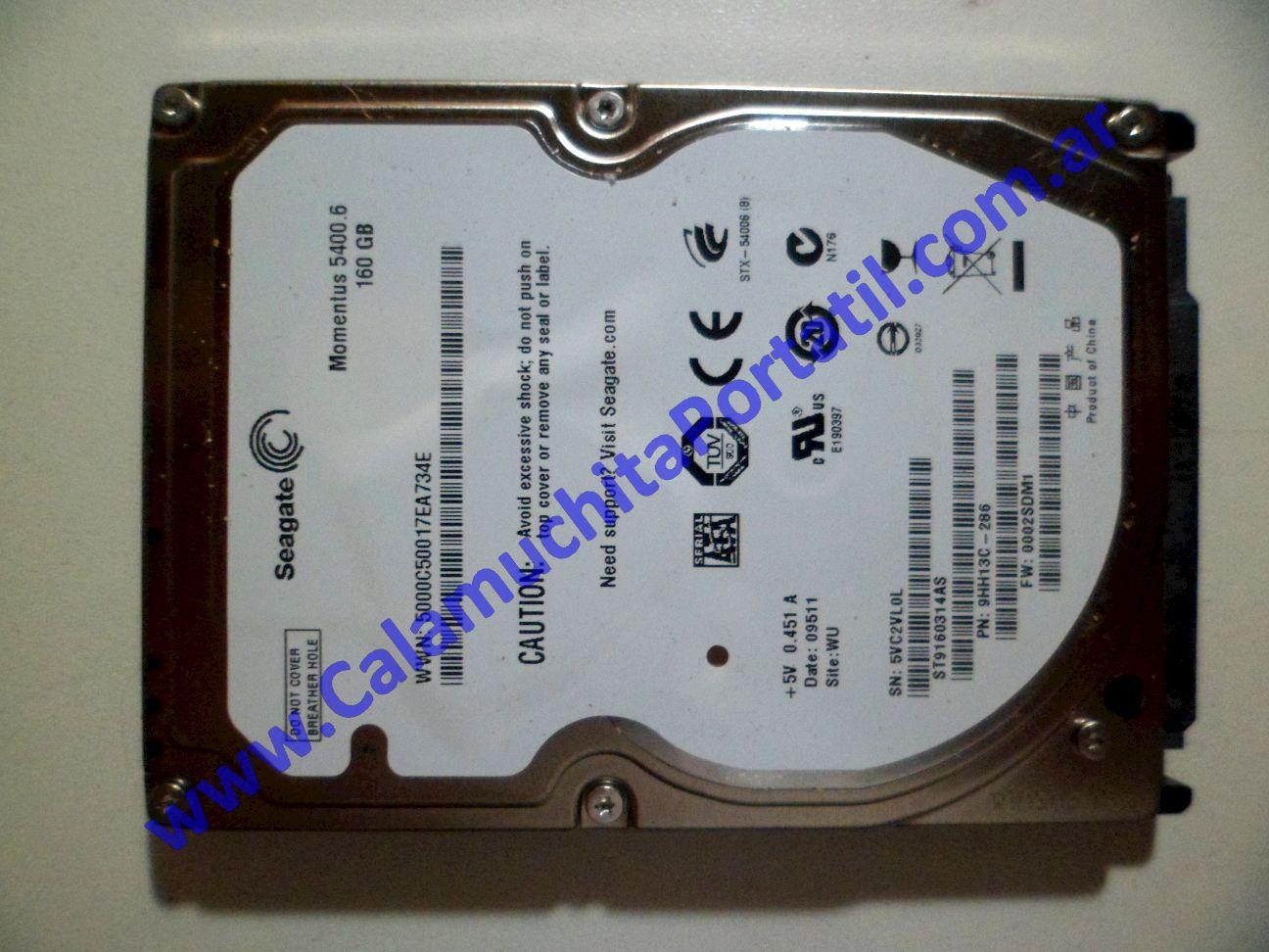 0041HDA Disco Rígido Asus Eee PC 1005HA