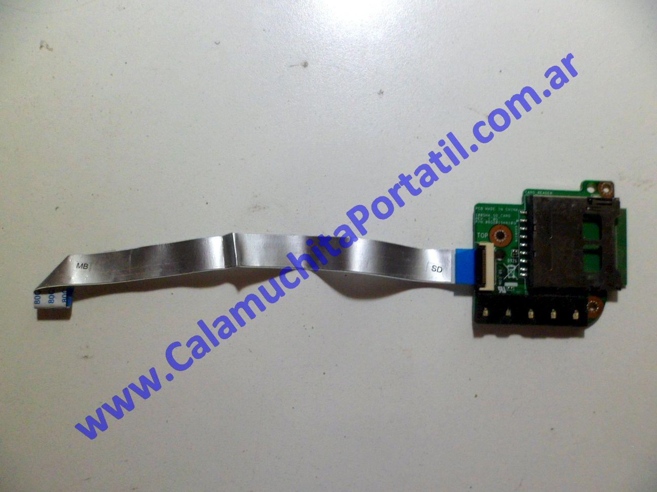 0041PCR Placa CardReader Asus Eee PC 1005HA