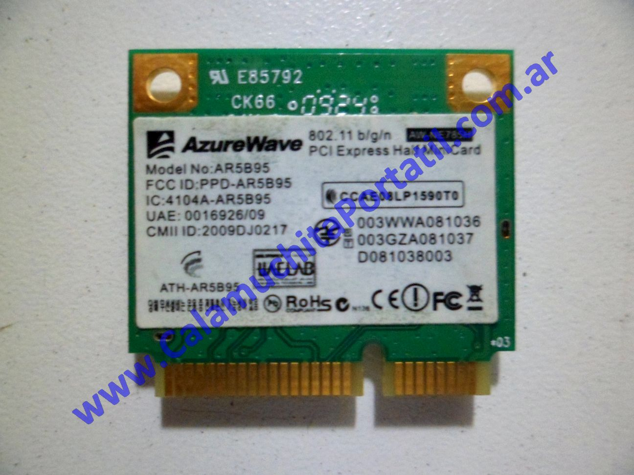 0041PWI Placa Wifi Asus Eee PC 1005HA
