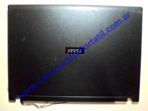 0042CAA Carcasa Tapa MSI VR603X / MS-163K