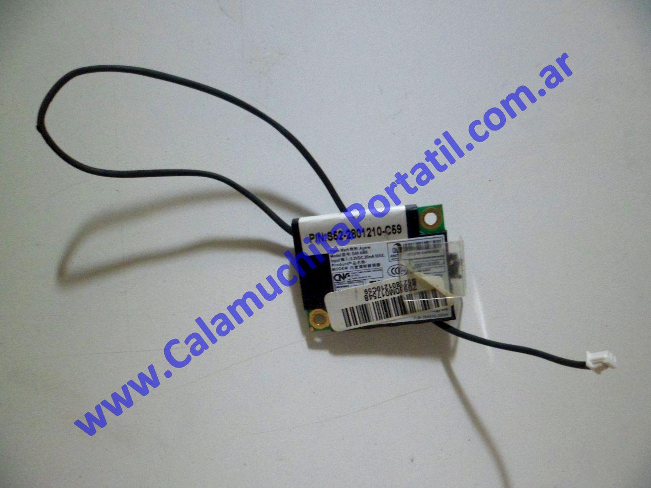 0042PMO Placa Módem MSI VR603X / MS-163K