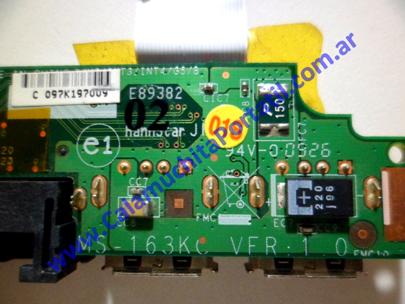 0042PUS Placa USB MSI VR603X / MS-163K