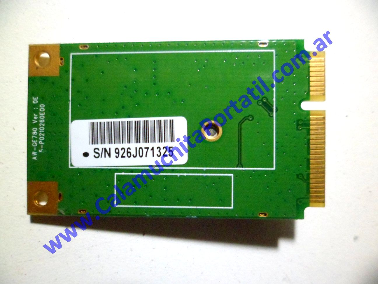 0042PWI Placa Wifi MSI VR603X / MS-163K