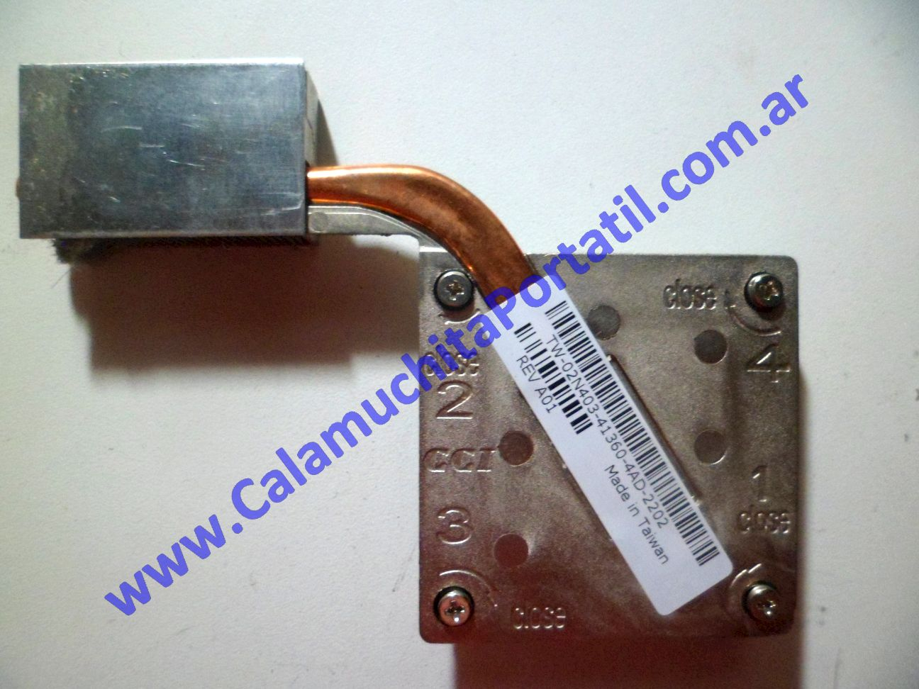 0043UDA Disipador Dell Latitude D600