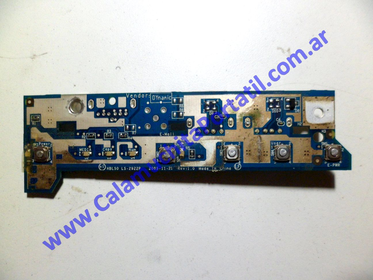 0049PUS Placa USB Acer Aspire 3102WLMi / BL51