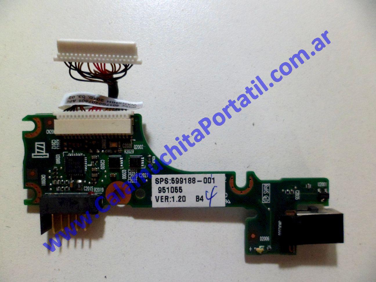0053JPO Conector Power Compaq Mini 102