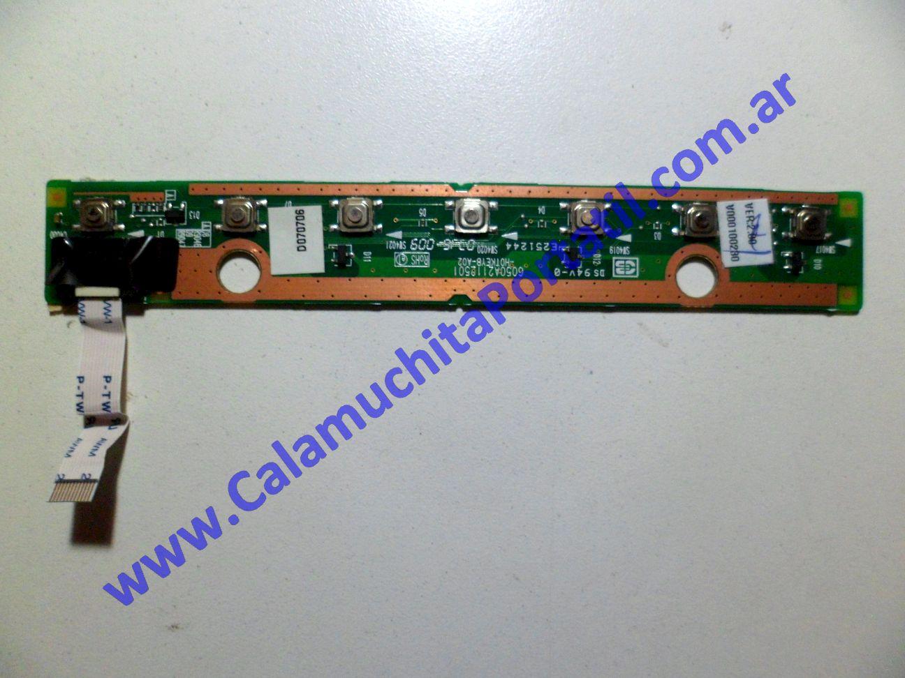 0056PEN Placa Encendido Toshiba Satellite A205-S4797