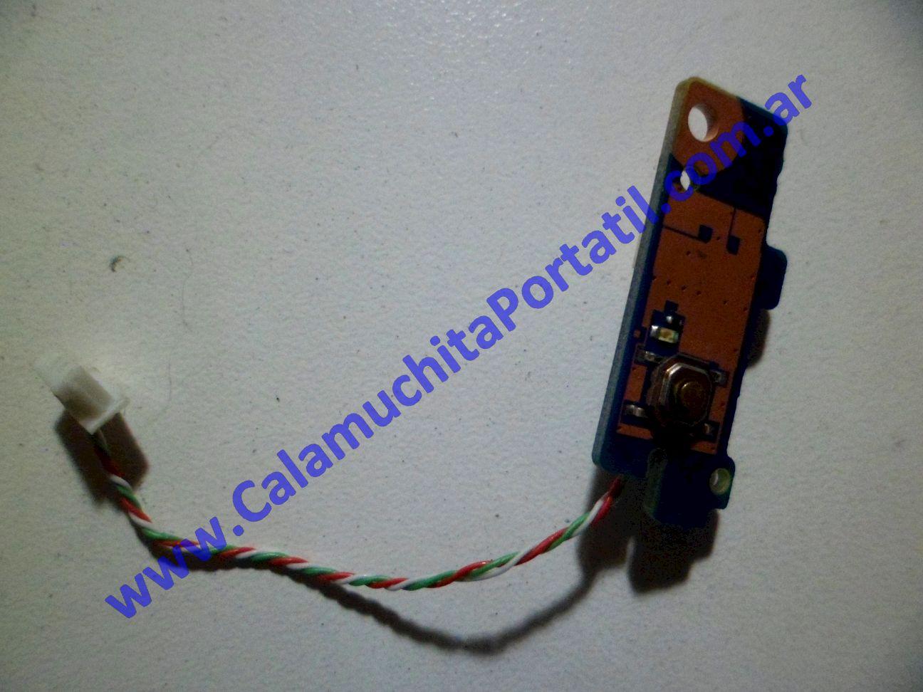0057PEN Placa Encendido Samsung NF310 / NP-NF310