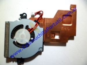 0057VDA Cooler C/Disipador Samsung NF310 / NP-NF310