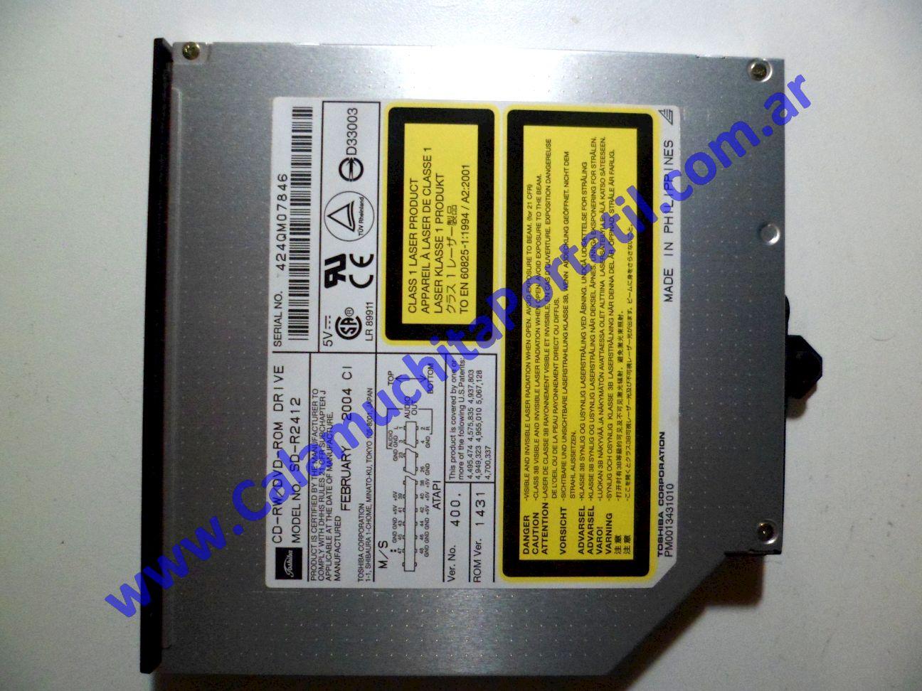 0058OPT Optico Toshiba Satellite A40-SP151